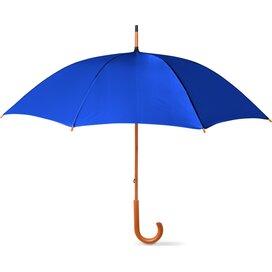 Paraplu met houten handvat Cala Blauw
