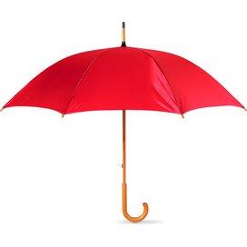 Paraplu met houten handvat Cala Rood