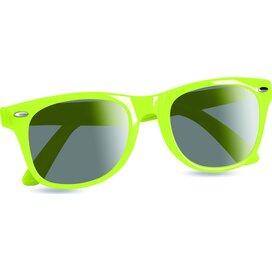 Zonnebril met UV bescherming America Lime groen