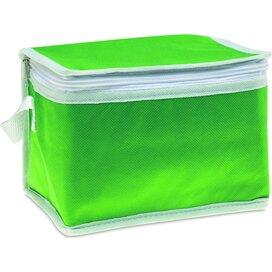 Koeltas voor 6 blikjes Promocool Groen