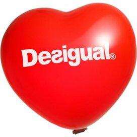Reuzenballon Hart 70 cm. Ø