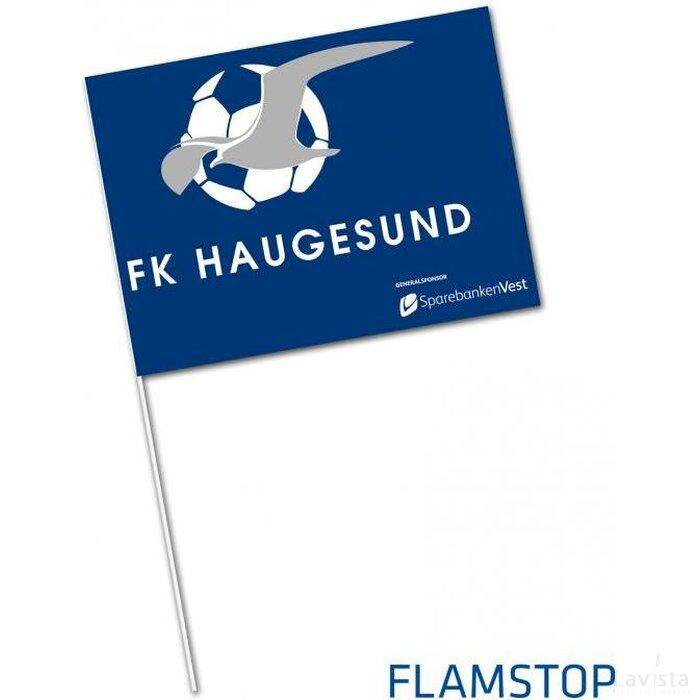 Supportersvlag FLAMSTOP vlamwerend