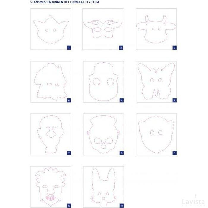 Masker 33x23 cm
