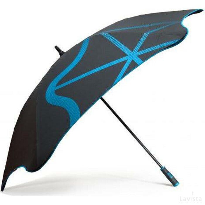 Blunt golf G2 paraplu zwart + blauw
