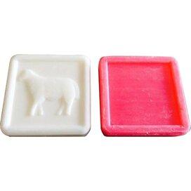 Vierkantvormig zeepje 100grams