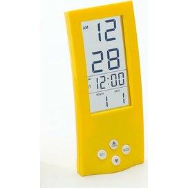 Bureau klok Aafke geel