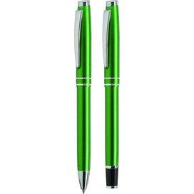 Balpen en vulen Siruis set groen
