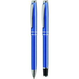Balpen en vulen Siruis set blauw