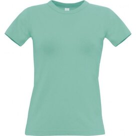 T-Shirt B&C Exact 190 Women Pixel Turquoise