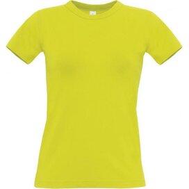 T-Shirt B&C Exact 190 Women Pixel Lime