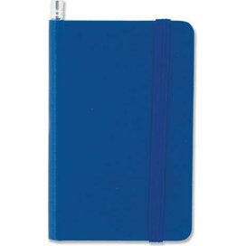 Notitieboek mini en potlood Blauw