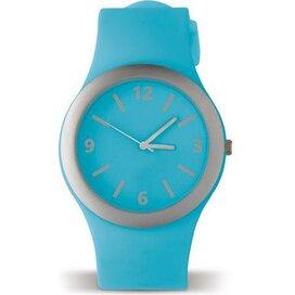 Horloge Charly Licht blauw