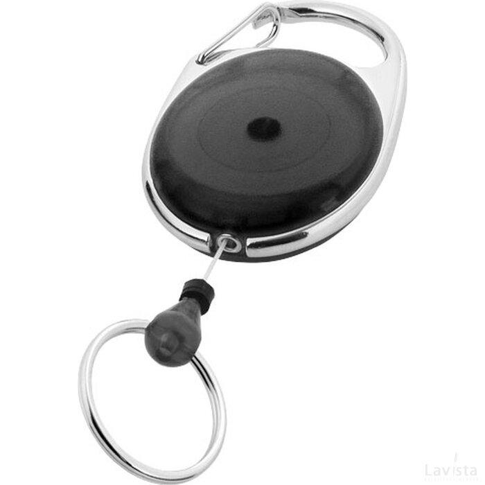 Gerlos sleutelhanger en rollerclip Zwart