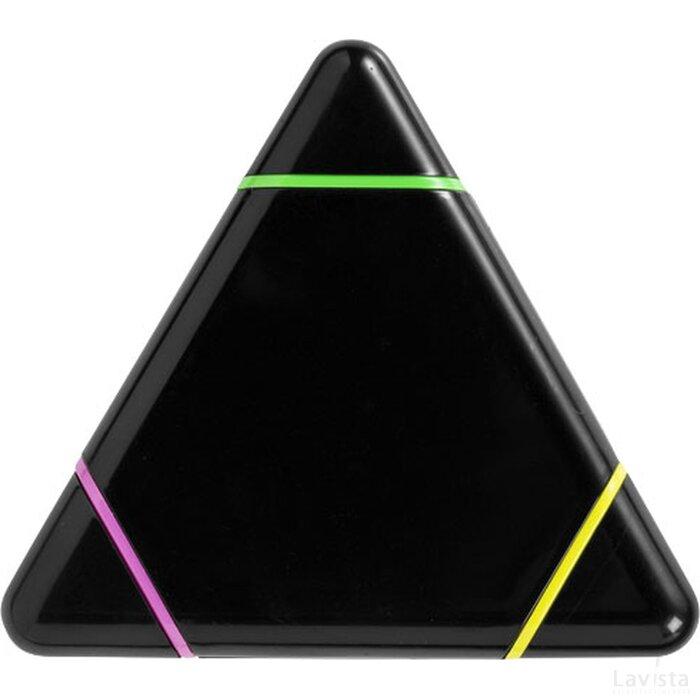 Bermuda driehoekige markeerstift Zwart