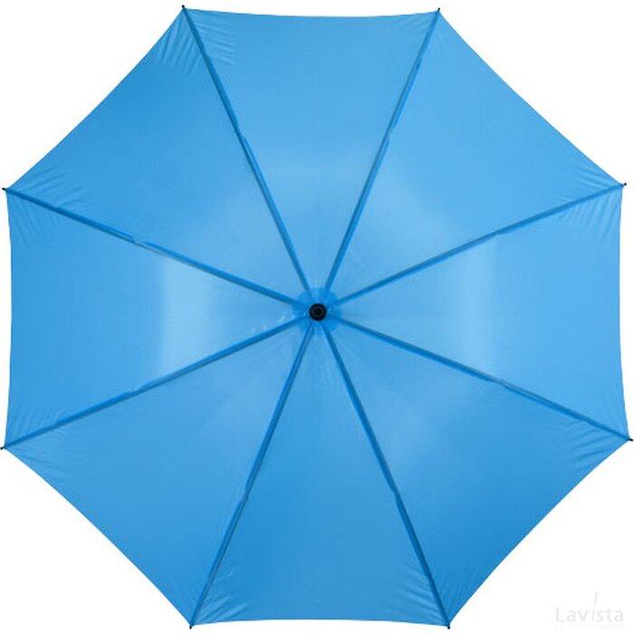 Yfke 30'' stormparaplu blauw Process Blue