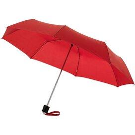 Ida 21.5'' 3 sectie paraplu Rood