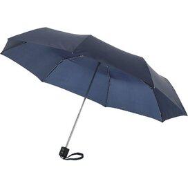 Ida 21.5'' 3 sectie paraplu Navy