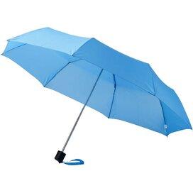 Ida 21.5'' 3 sectie paraplu blauw