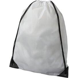 Oriole premium polyester rugzak Wit