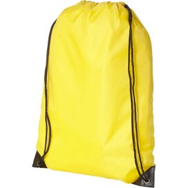Oriole premium polyester rugzak geel
