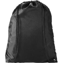 Oriole premium polyester rugzak Zwart