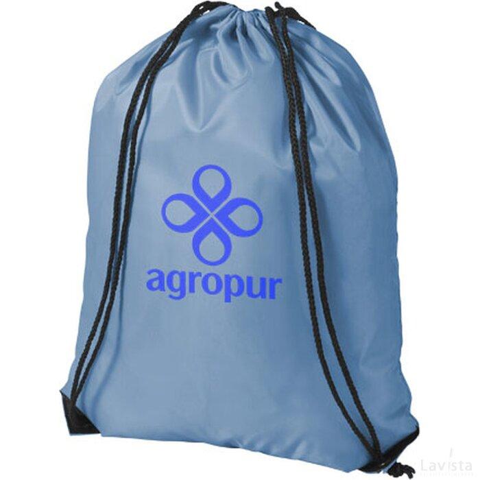 Oriole premium polyester rugzak Sky blue
