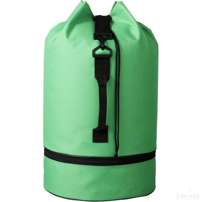 Idaho polyester plunjezak helder groen