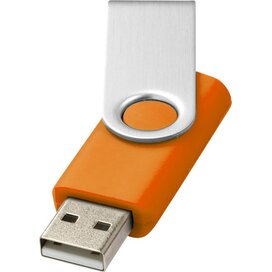 Rotate basic USB 4GB Oranje,Zilver