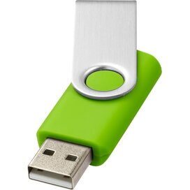 Rotate basic USB 4GB Lime,Zilver