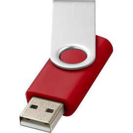 Rotate basic USB 4GB Rood,Zilver