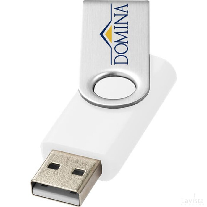Rotate basic USB 4GB Wit,Zilver