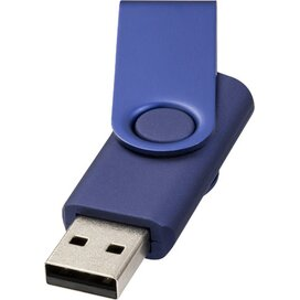 Rotate metallic USB 4GB Navy