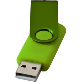 Rotate metallic USB 4GB Lime