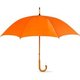Paraplu met houten handvat Cala Oranje