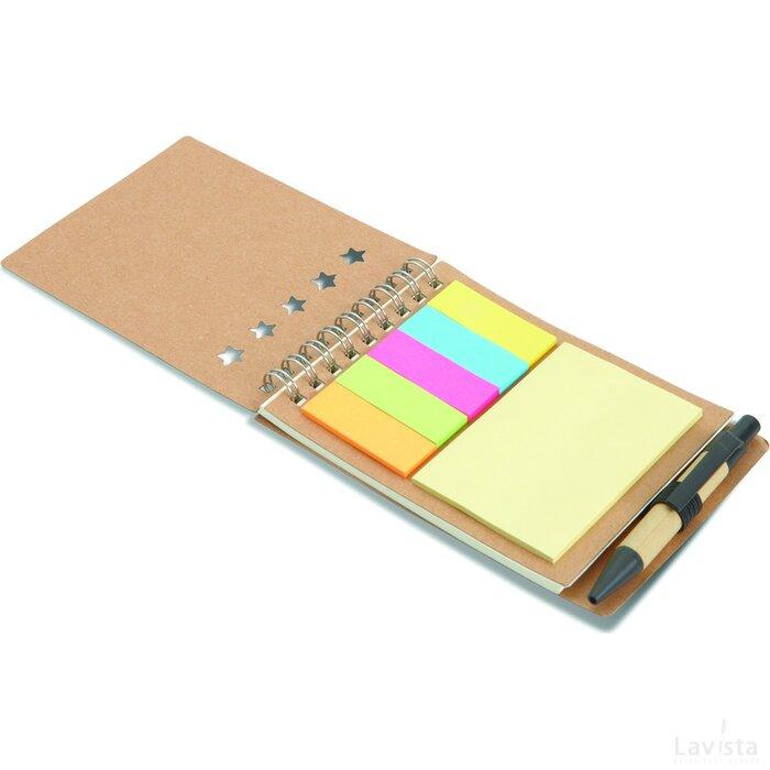 Notitieboekje met balpen Multibook Beige