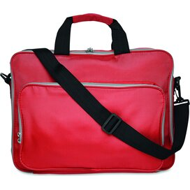 15 Inch laptoptas Lucca Rood