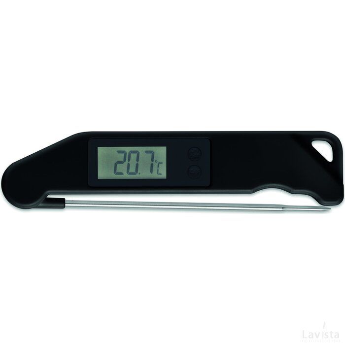 BBQ thermometer Check It Zwart