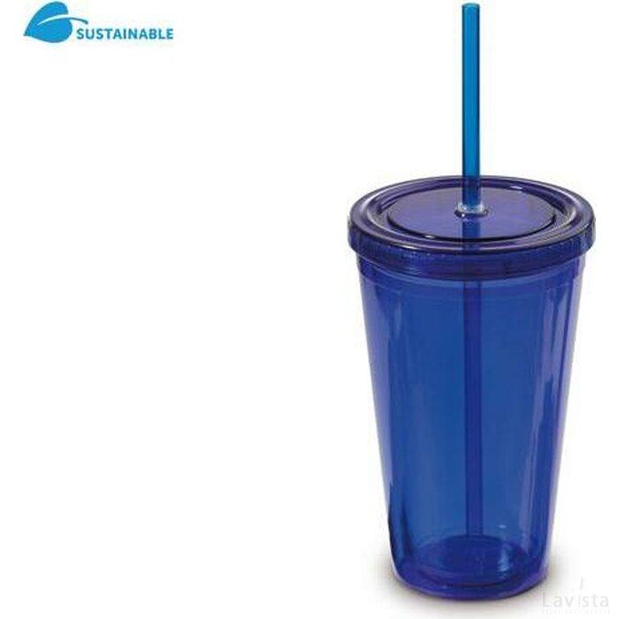 Drinkbeker Finn Blauw
