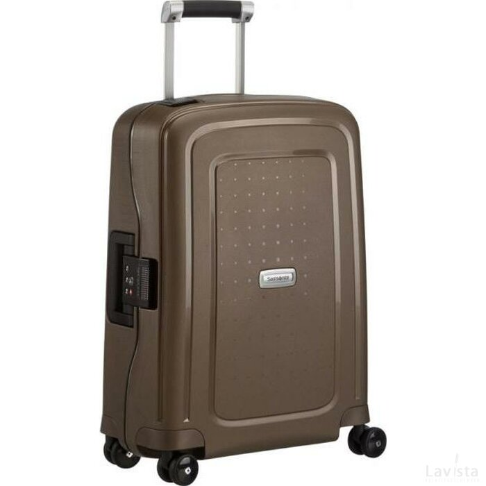 Samsonite S'Cure DLX Spinner 69 Metallic Brons