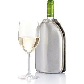 Wijnkoeler hoes zilver