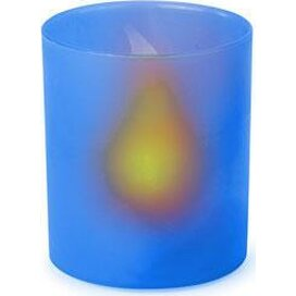 Electric Candle Fiobix Blauw