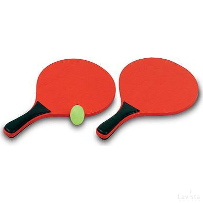 Beach Bal Set Point Rood