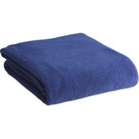 Fleecedeken Menex Donker Blauw