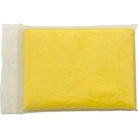 Poncho Remo geel