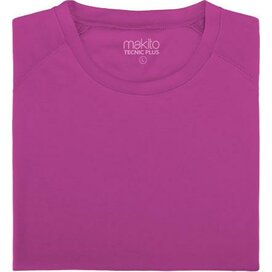 Adult T-shirt Tecnic Plus Fuchsia