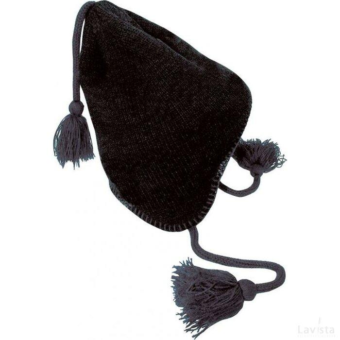 Oostenrijkmuts Zwart