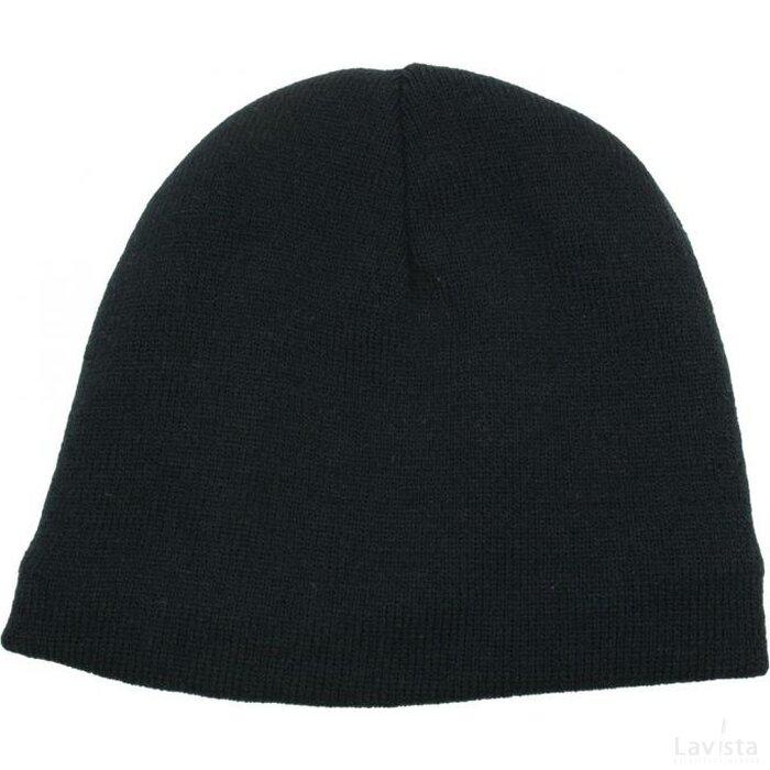 Gebreide Wintermuts Thinsulate Zwart