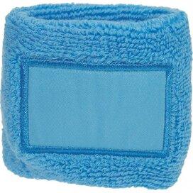 Polsband 6cm Met Label Lichtblauw