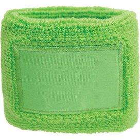Polsband 6cm Met Label Groen