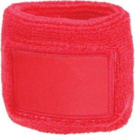 Polsband 6cm Met Label Roze